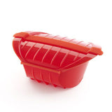 Cocotte OGYA XL (rouge) / Large microwave pot OGYA XL (red)