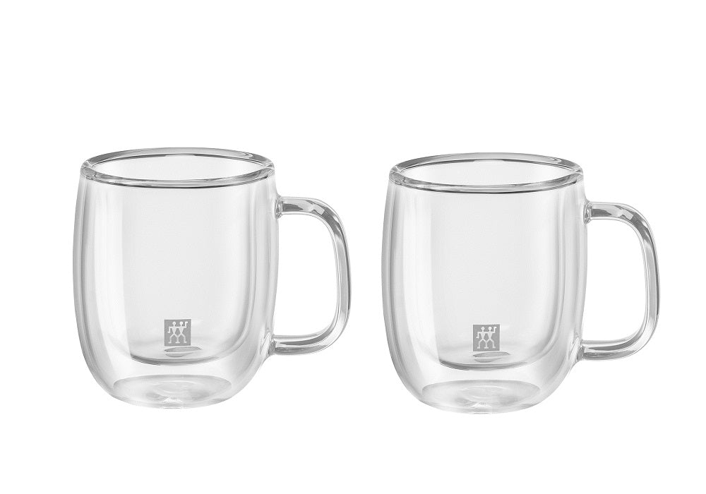 ZWILLING® Sorrento Plus Ensemble de 2 tasses à expresso, 134 ml/ Sorrento Plus Double Wall Double Espresso Mug – 2 Piece Set