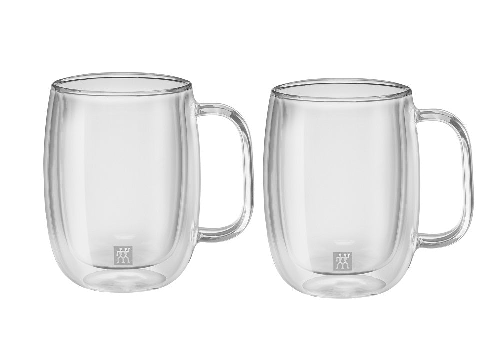 ZWILLING® Sorrento Plus Ensemble de 2 tasses à café, 355 ml/ Sorrento Plus Double Wall Coffee Mug – 2 Piece Set