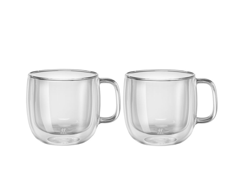 ZWILLING® Sorrento Plus Ensemble de 2 tasses à Cappuccino, 450 ml/ Sorrento Plus Double Wall Cappuccino Mug – 2 Piece Set