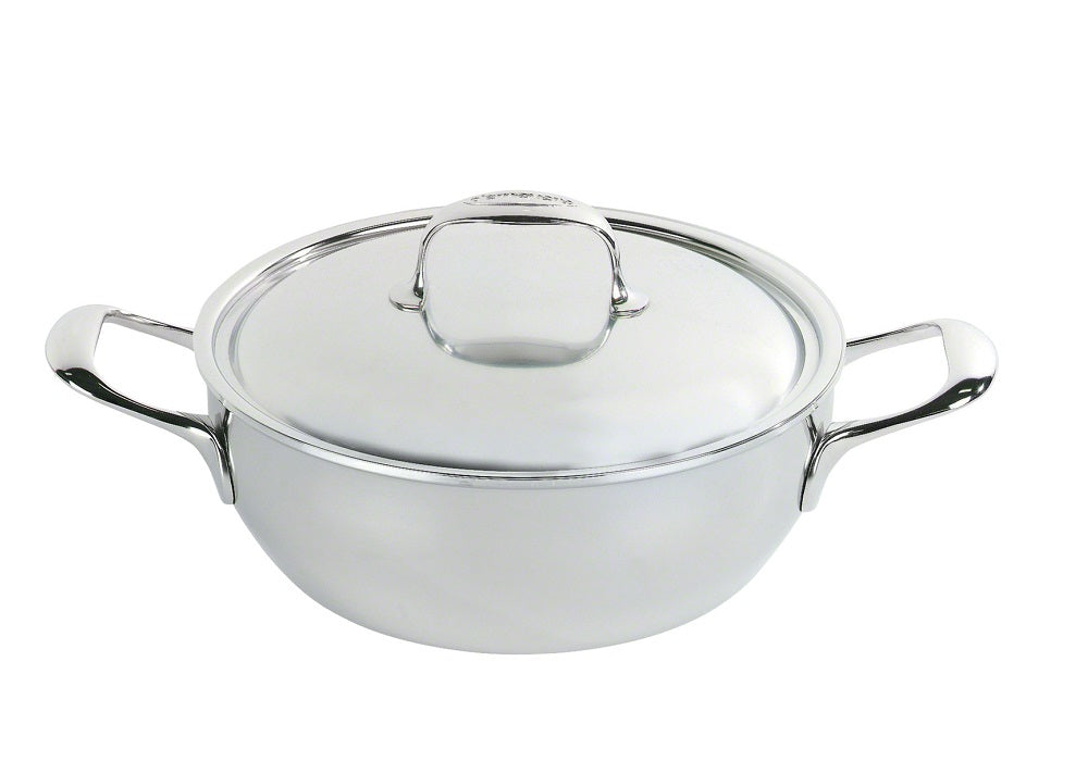 Cocotte Conique 28cm 4.8L- Atlantis - Demeyere / Atlantis Conical Simmering Pot with Lid 5.1 qt. / 4.8 L