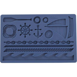 Moule silicone Impressions nautique - Nautical Fondant Mold