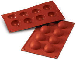 Moules DEMI-SPHERE  Ø 1.97'' en silicone flexibles SILICONFLEX / SILICONE MOLD - HALF SPHERES