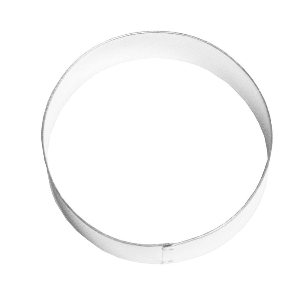 "Emporte pièce rond 4""  / Circle Cookie Cutter, 4-Inch, Stainless Steel"
