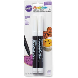 Marqueurs alimentaire Noir x2 / Foodwritter fine tip edible markers