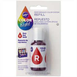 Colorant en gel Alimentaire Rouge / Color Right Red Base Color Refill