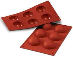 Moules DEMI-SPHERE Ø 2,36'' en silicone flexibles SILICONFLEX / SILICONE MOLD - HALF SPHERES