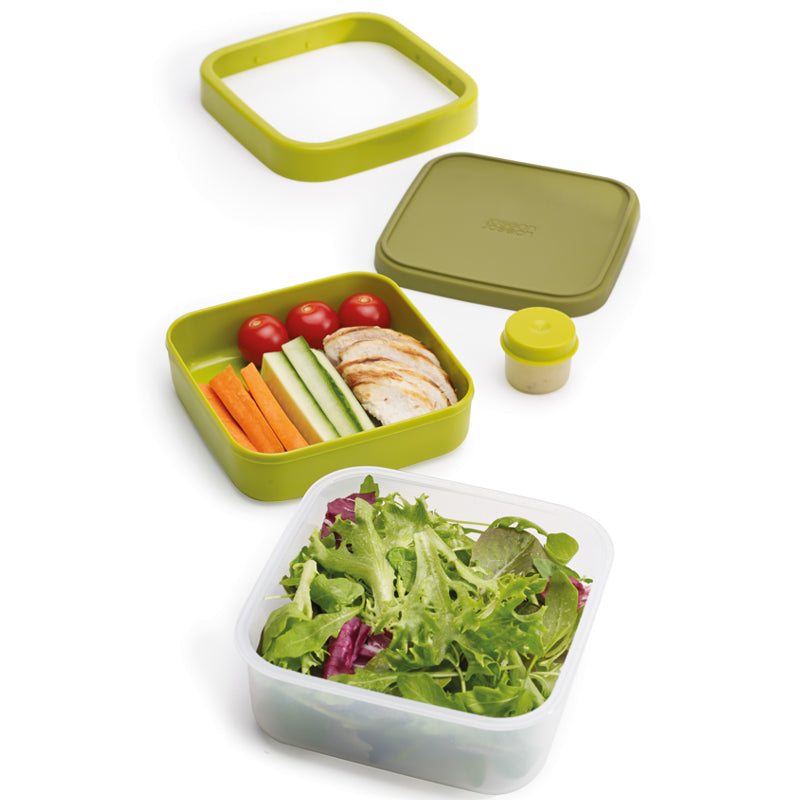 Boîte à salade 3-en-1 GoEat™/ GoEat™ Space-saving Soup Pot