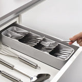 Range-couverts compact DrawerStore™/ DrawerStore™ Compact Cutlery Organizer