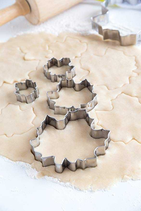 Kit emporte-pièces Feuilles d'Érable 5 pcs / Maple Leaf Cookie Cutter Set