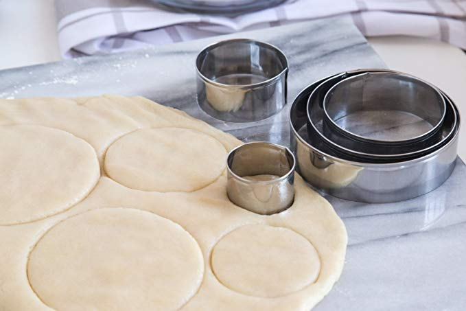 Kit emporte-pièces ronds 5 pcs / Circle Cookie Cutter Set