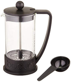BRAZIL cafetière à Presse 0.35 L Noir / BRAZIL French Press coffee maker, 3 cup, 0.35 l, 12 oz