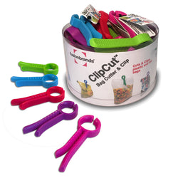 Coupe-Sac & Clip ClipCut™ / ClipCut™ 2-in-1 Bag Cutter & Clip