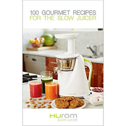 "Livre Hurom ""100 gourmet recipes for the slow juicer en Anglais"