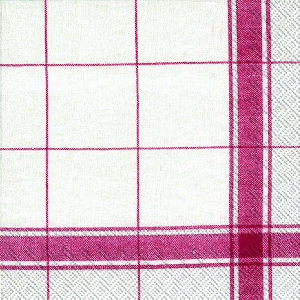 Serviette de table ''Country living red''