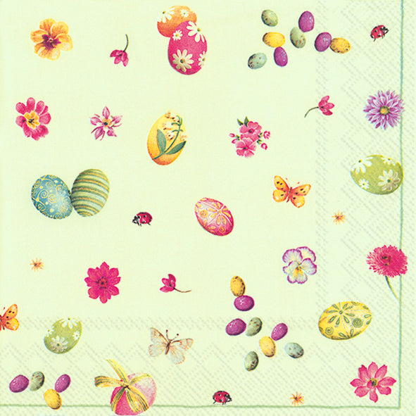 Serviette de table ''Little easter eggs''