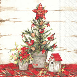 Serviette de table ''Cottage Christmas Tree''