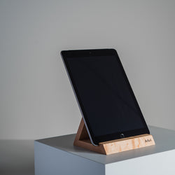 Support à tablette / Wooden Tablet Holder