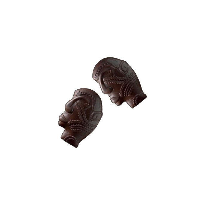 Moule pour chocolat en polycarbonate - Friture Masque Papouasie / Polycarbonate mould - Papua Mask  items