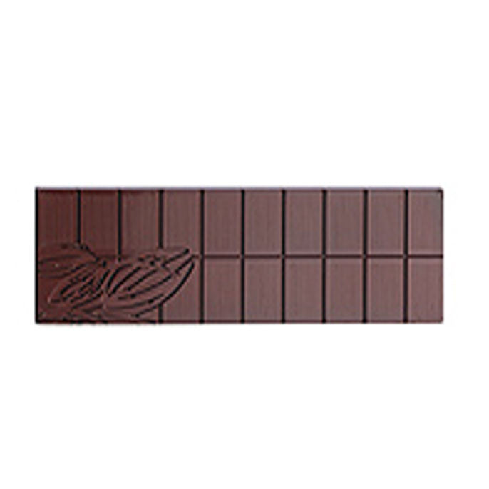 Moule pour chocolat en polycarbonate - Tablette longue / Polycarbonate mould - Long bar