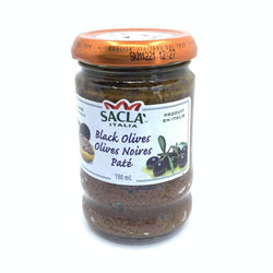 Tapenade aux Olives Noires 190ml / Tapenade with Black Olives 190ml