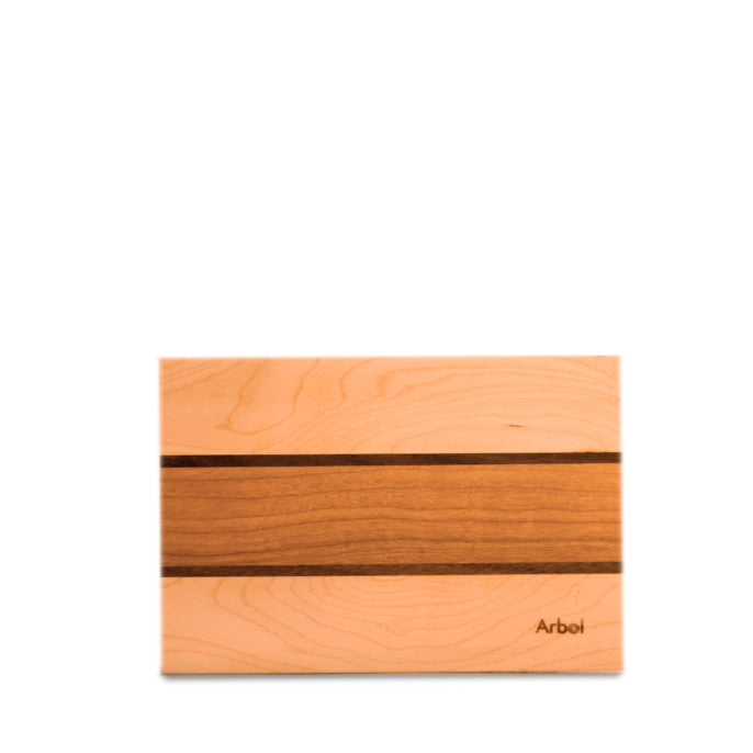 Planche à Ail érable/noyer/cerisier 5x7½ / Garlic Cutting board maple/walnut/cherry 5x7½