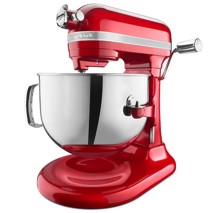 Batteur sur socle série ProLine 7 pintes  bol métal / Pro Line® Series 7-Qt Bowl Lift Stand Mixer Rouge/Red