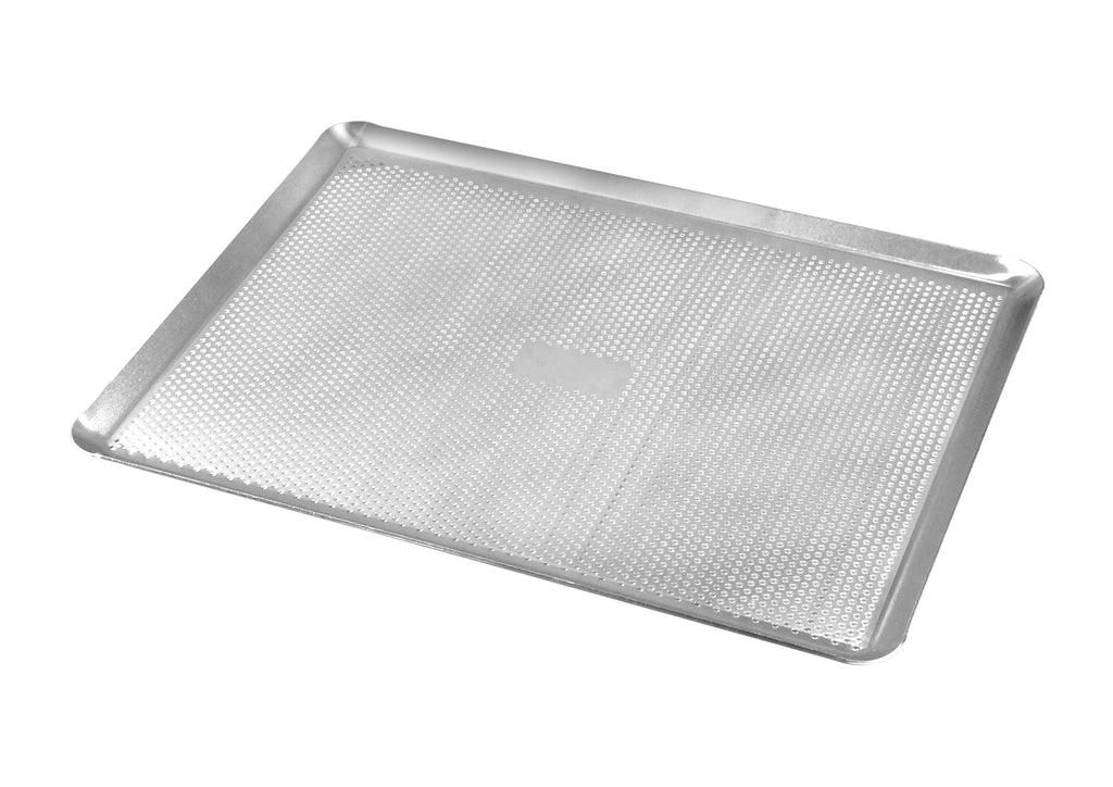 Plaque à pâtisserie perforée  aluminium 53 x 32,50 cm / Gobel perforated aluminum pastry sheet