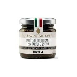 Tapenade d'Olives épicées à la Truffe 90ml / Spicy Olive Tapenade with Truffle 90ml