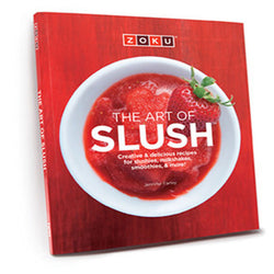 "Livre ""THE ART OF SLUSH "" de Zoku (en anglais uniquement) / THE ART OF SLUSH Recipe Book"
