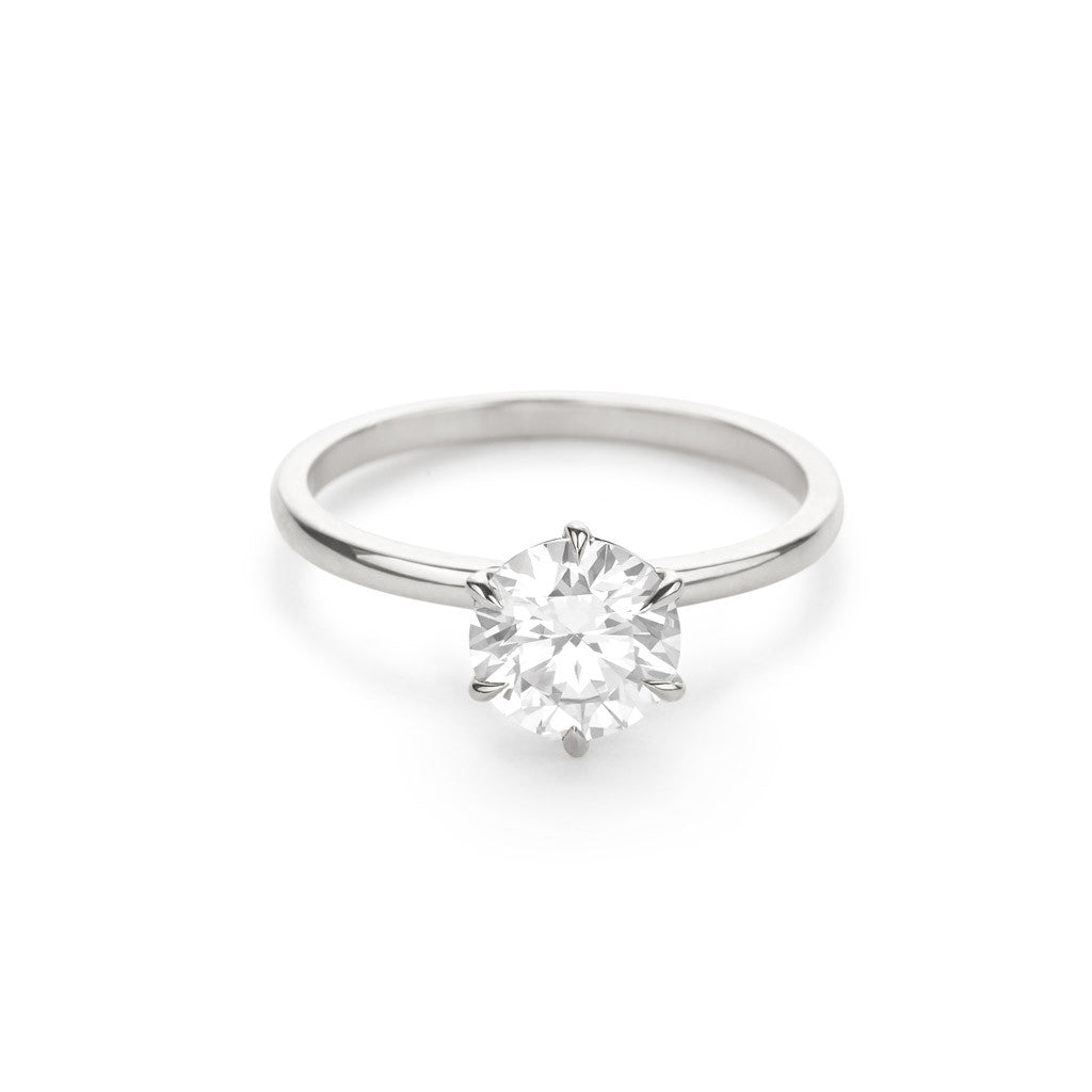 The Solitaire Engagement Ring