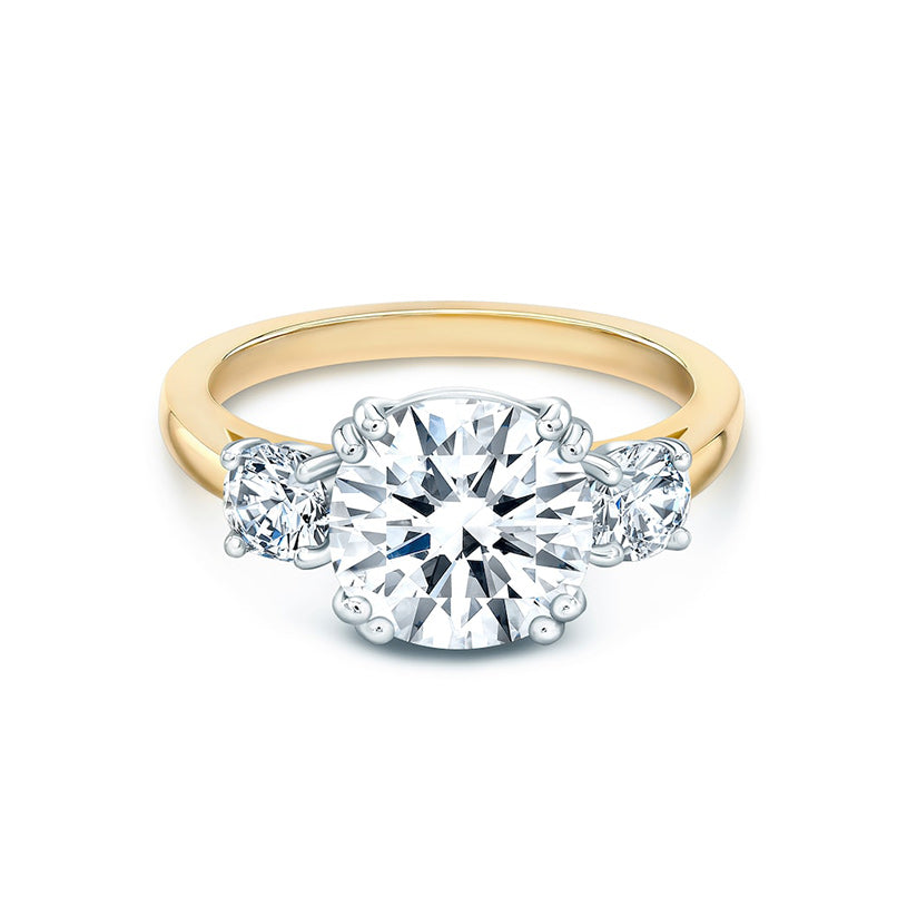amore do rings engagement solitaire shank ring unity split