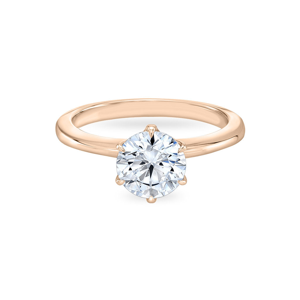 The Six Pointed Blossom Engagement Ring