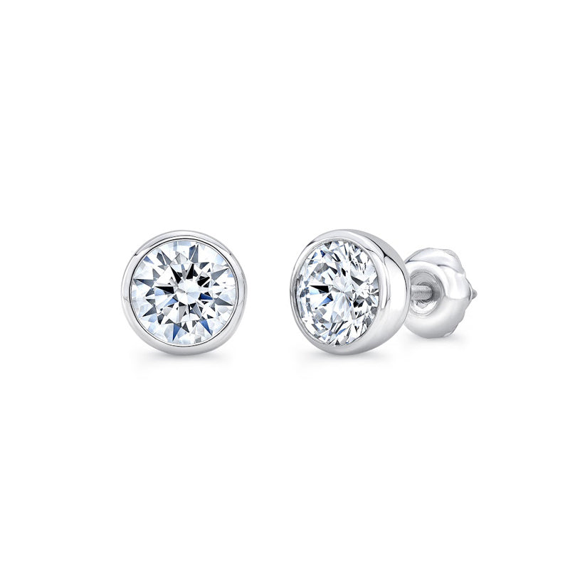 diamond gold stud earrings w peoples v jewellers white t cluster in c