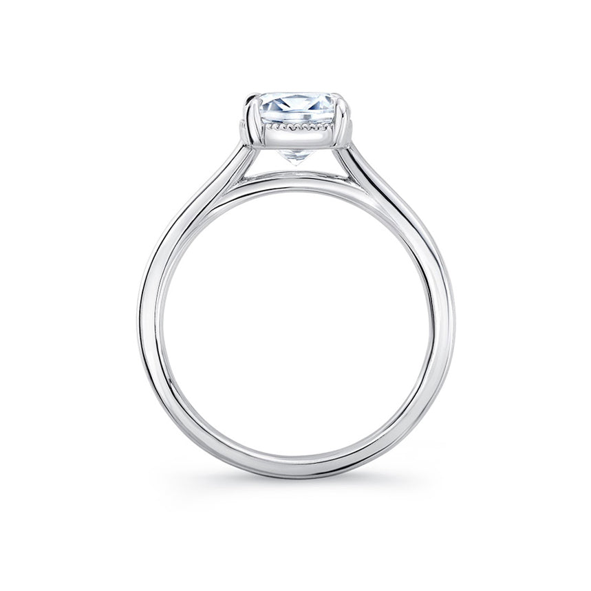The Four Pointed Grove Engagement Ring