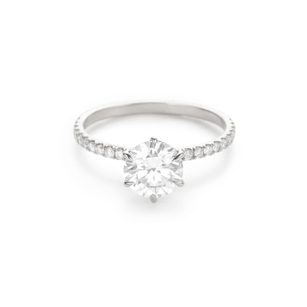 The Solitaire Pave
