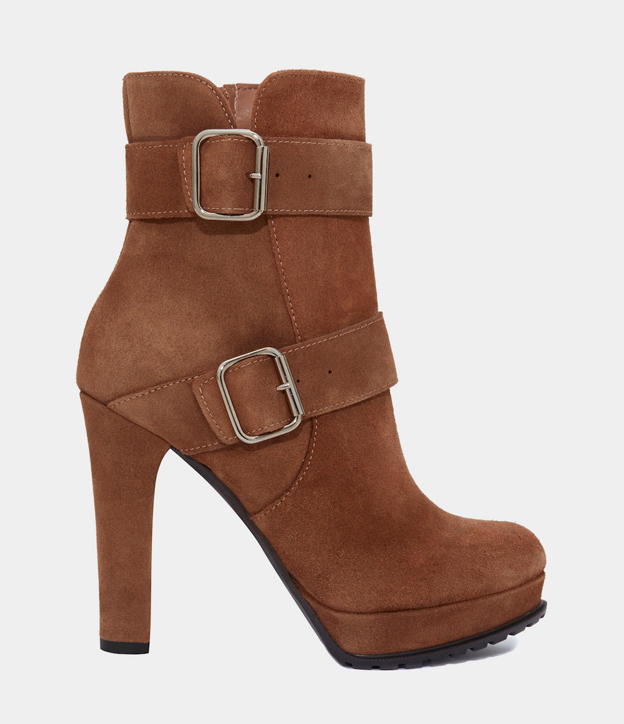High Heel Ankle Boots Noemi Brown