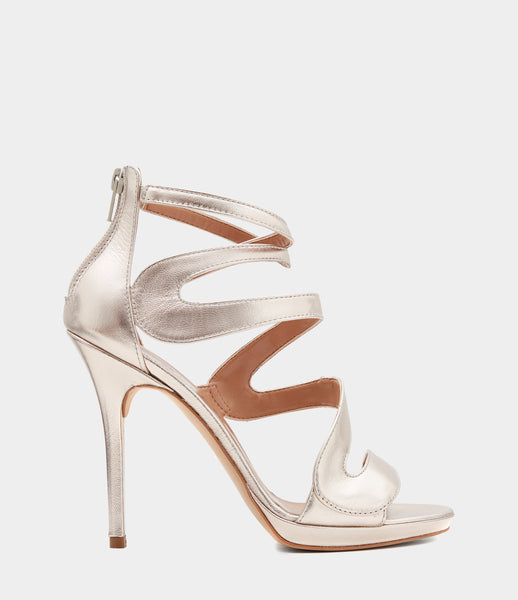 High Heeled Sandals Marisol Gold