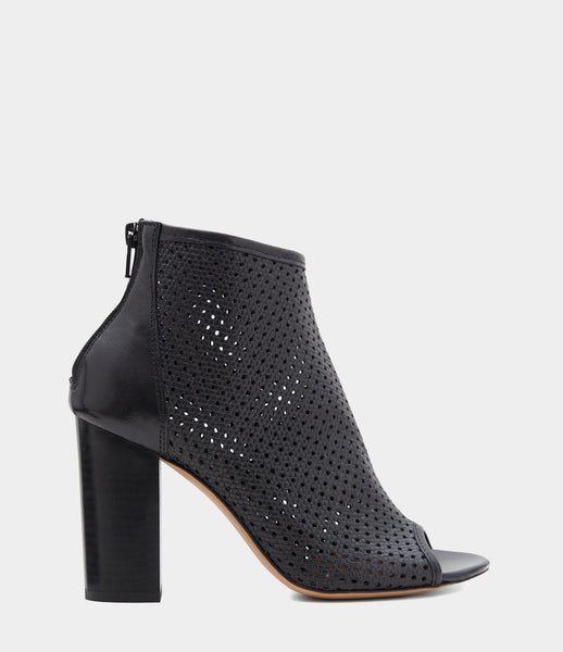 High Heeled Ankle Boots Leonora Black