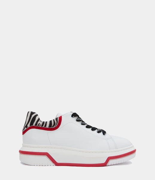 Plateau Sneaker Holly White