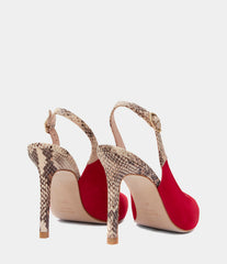 Slingback Pumps Gema Red