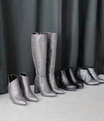 Wedge Boots Grace Silver