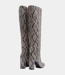 High Heel Boots Aylin Grey