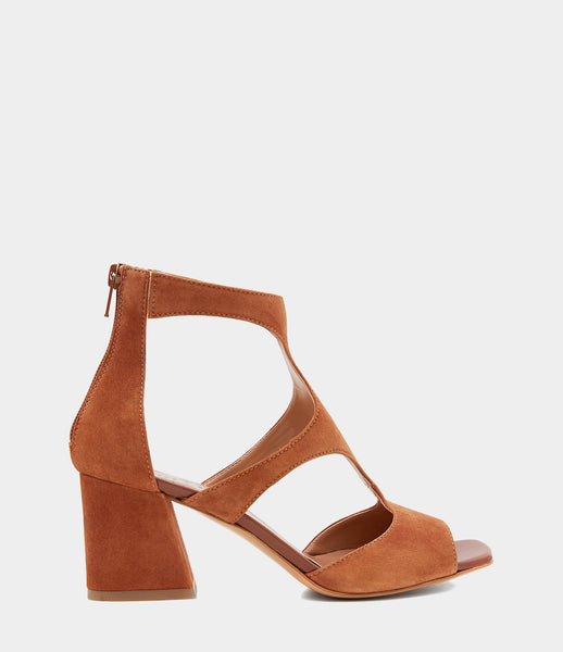 Ankle Cuff Sandals Sonia Brown
