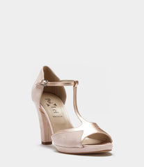 Block Heel Sandals Aurora Pink