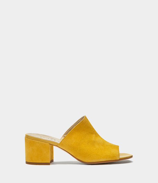 Mules Coco Yellow