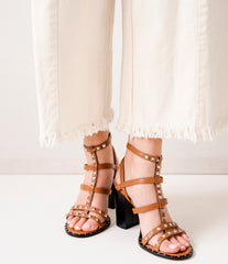 Sandals Ania Brown