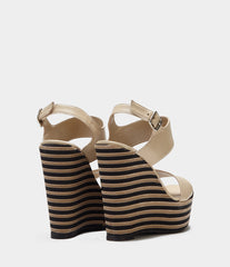 Wedges With Plateau Ilaria Brown