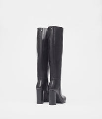 High Heel Boots Ina Black