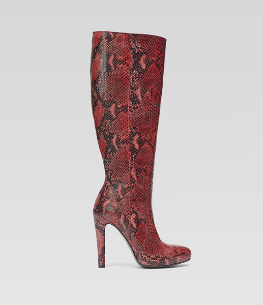 High Heel Boots Janine Red